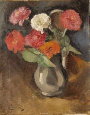 Flower Still Life by Willem Paerels