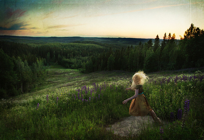 The Wonder of a Wanderer by Kylli Sparre