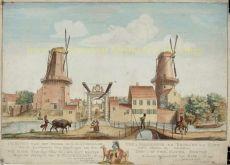 Den Haag Loosduinse  weg by Scheurleer, Hendrik Florisz. (1692-1768)