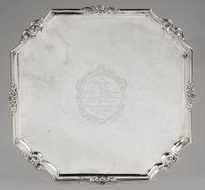 Commemorative Silver Salver, Batavia