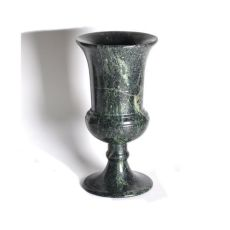 Russian green porphyry vase by Unknown Artist