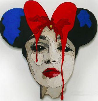 "Meet my fabulous ""Mrs lady mouse"" sister by Mart de Brouwer"