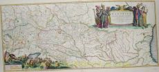 The Danube, Europe's largest river by Blaeu, Joan