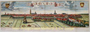 aangezicht 's Gravenhage  by Georg Balthasar Probst