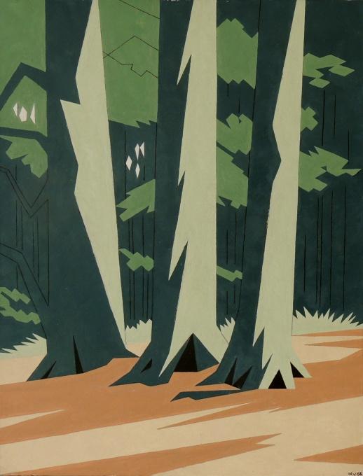 Trees by Hendrik Valk