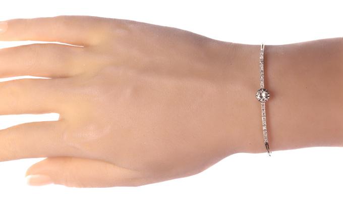 Art Deco diamond bracelet by Unknown Artist