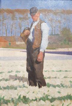 Portrait of a Farmer by Ferdinand Hart Nibbrig