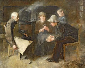 De Garenwinders by Jan Toorop