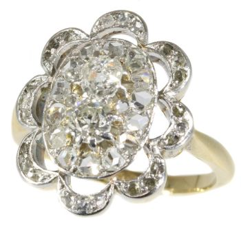 Late Victorian diamond engagement ring by Unknown Artist