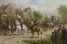 A peasant's parade by Otto Eerelman