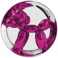 Balloon Dog magenta by Jeff Koons