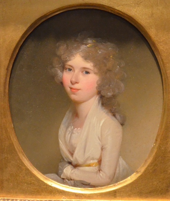 Portrait of Lady Anna Jacoba Wilhelmina van Aylva by Charles Howard Hodges