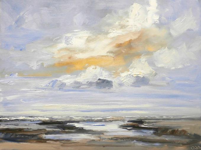 Beach times by Sonja Brussen