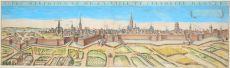 GEZICHT OP ANTWERPEN VANUIT HET OOSTEN  by Boisseau, Jean (active between 1637-1658)