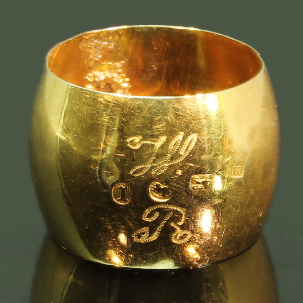 Rare antique wedding band from the Southern Netherlands - Zeeland by Unknown