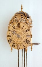 French Lantern clock