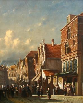 Town hall by Petrus Gerardus Vertin