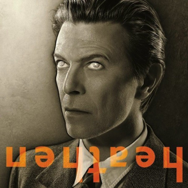 David Bowie for the cover of his album Heathen by Markus Klinko