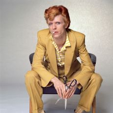 David Bowie for MOJO Magazine by Terry O'Neill