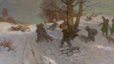 Winter fun by Fritz Freund