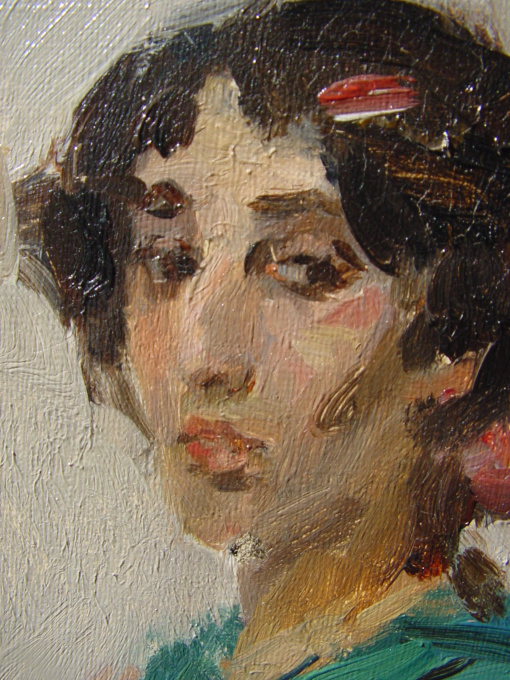 Spanish Dancer by Isaac Israels