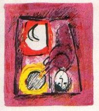 La Fenêtre by Marc Chagall