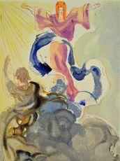 Divini commedia paradiso 03 by Salvador Dali