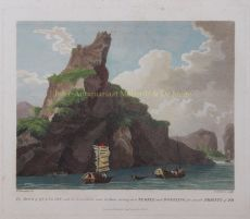 The Rock of Quang-Yin, with an Excavation near its Base by Alexander, William (1767-1816)