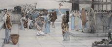 Dedication to Bacchus  by Lawrence Alma-Tadema