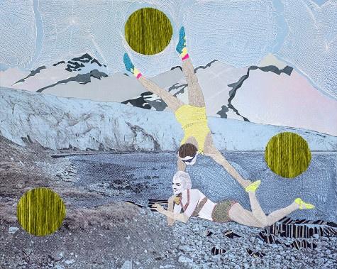 Arctic Charade Blue by Preta Wolzak