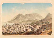 View on Cape Town Kaapstad by Isidore Deroy
