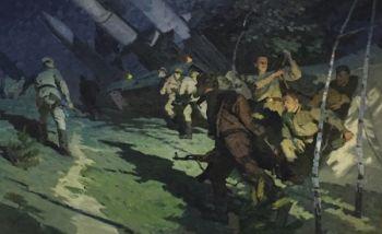 Night Alarm by Revold Baryshnikov