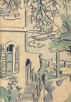 Le Balcon, Antibes by Loïs Hutton