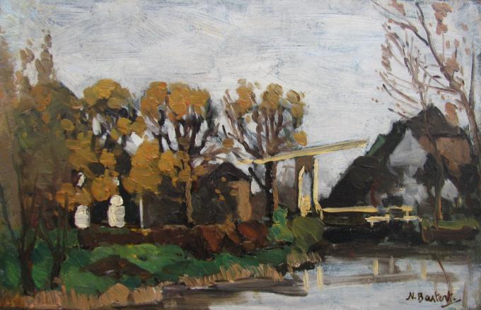 Autumn in Loenen by Nicolaas Bastert
