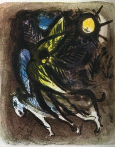 L'Ange by Marc Chagall