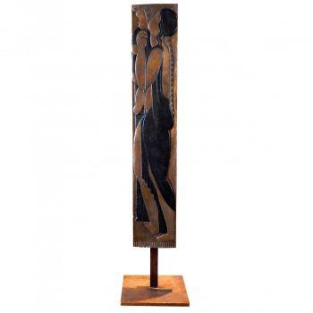 Relief 'Maternité' by Léon Indenbaum