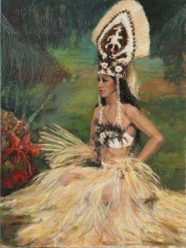 Tahitian Dancer by Menno Simon