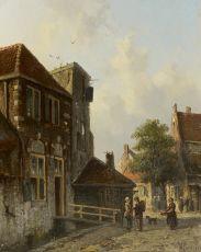 A Dutch town view