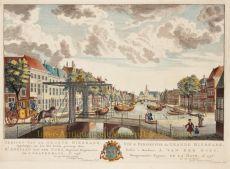 Den Haag, Bierkade  by  Hendrik Florisz. Scheurleer