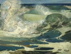 Ground Swell by Adrianus Johannes van het Hoff