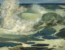 Ground Swell by Adrianus Johannes van het Hoff