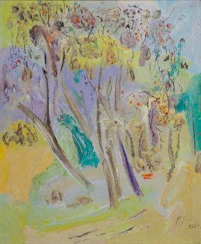 Flowering Trees by Tian Yi