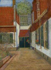 Het Heilige Geest Hofje, The Hague by Antoinette Agathe Van Hoytema