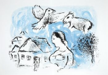 Le Village / The Village by Marc Chagall