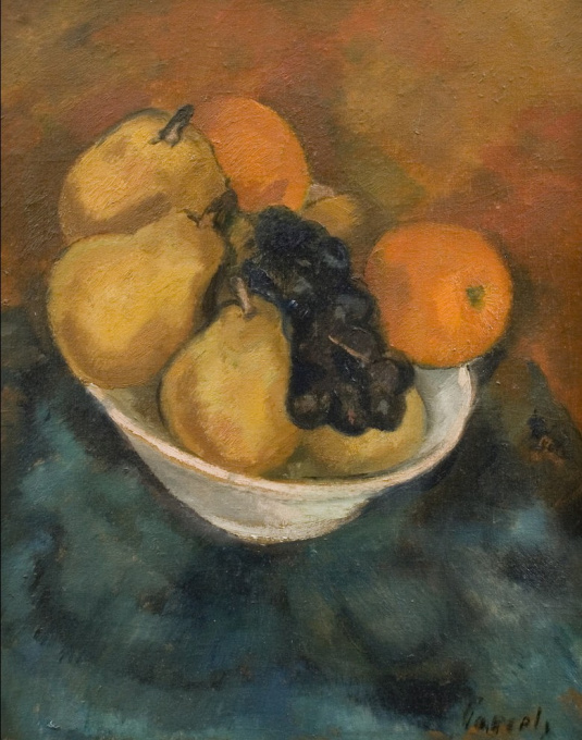 Still life with fruit by Willem Paerels