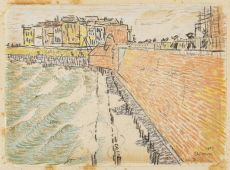Vlissingen by Jan Toorop