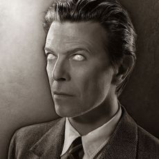 David Bowie for the cover of his album Heathen