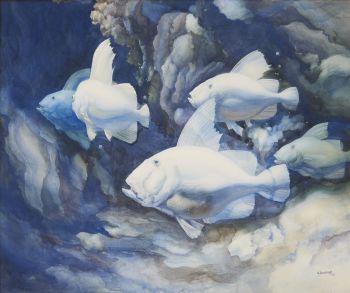 Fish by Adrianus Johannes van het Hoff
