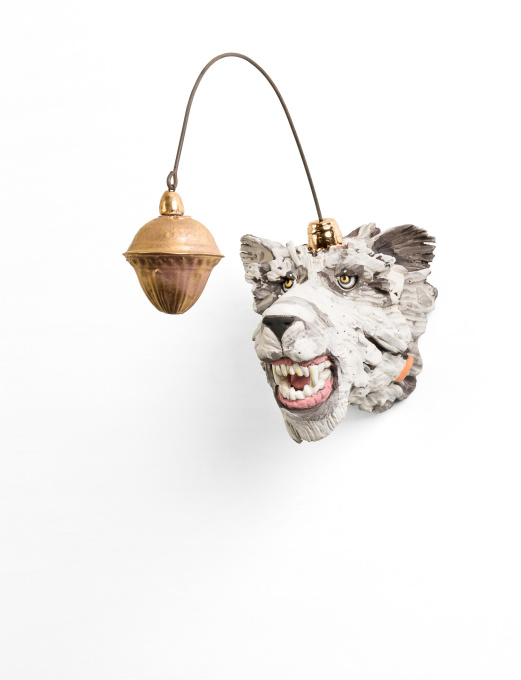 Boze IJsbeer met Gezellig Lampje by Peter Hiemstra