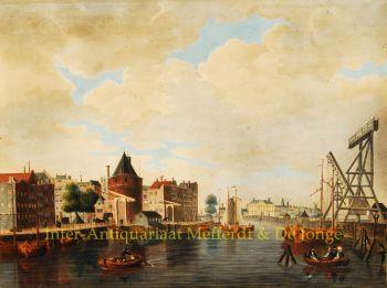 Amsterdam, Prins Hendrikkade, Schreierstoren  by Probst/ Werner